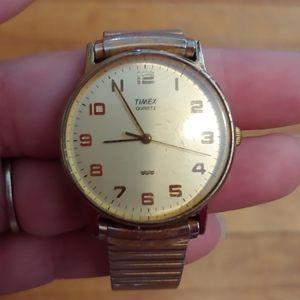 Antique Timex Quartz Mens Watch